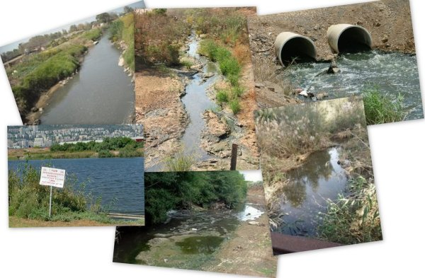 The five rivers Zalul will be focusing the campaign on:  The Sorek River, The Lachish River, The Na'aman River, The Kishon River, The Jordan River and the Herod River