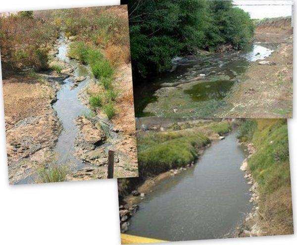 Lachish River, Naaman River and Sorek River