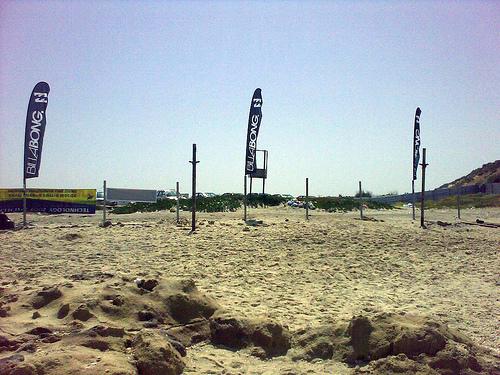 Save the Beach http://www.youtube.com/watch?v=uokEJA6vuJE